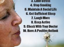 Methods For Living A Longer Life